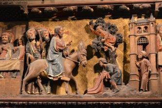 Jesus' Entry into Jerusalem, Notre Dame, 2016